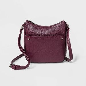 Purple Convertible Crossbody Purse - A New Day NWT